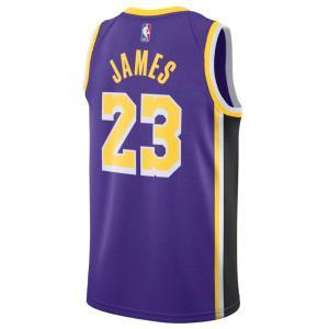 NBA レブロン・ジェームス ロサンゼルス・レイカーズ ユニフォーム/ジャージ スウィングマン ナイキ/Nike パープル