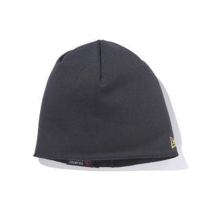 ニューエラ/New Era ニットキャップ/帽子 ブラック/ゴールド Fleece Beanie Polartec|selection-j