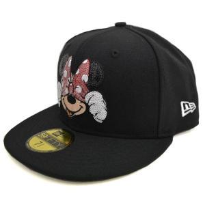 ニューエラ/New Era 59FIFTY キャップ/帽子 ディズニー コラボモデル シークインド ミニー|selection-j