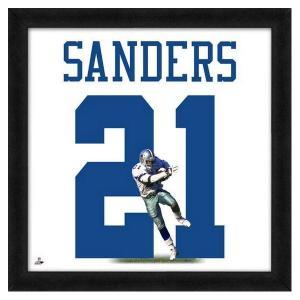 NFL カウボーイズ ディオン・サンダース フォト ファイル/Photo File UNIFRAME 20 x 20 Framed Photographic selection-j