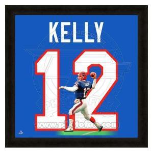 NFL ビルズ ジム・ケリー フォト ファイル/Photo File UNIFRAME 20 x 20 Framed Photographic selection-j