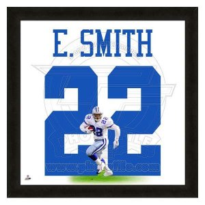 NFL カウボーイズ エミット・スミス フォト ファイル/Photo File UNIFRAME 20 x 20 Framed Photographic selection-j