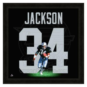 NFL レイダース ボー・ジャクソン フォト ファイル/Photo File UNIFRAME 20 x 20 Framed Photographic selection-j