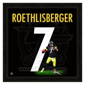 NFL スティーラーズ ベン・ロスリスバーガー フォト ファイル/Photo File UNIFRAME 20 x 20 Framed Photographic selection-j