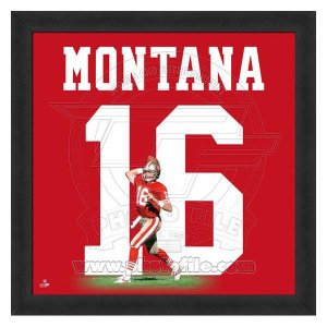 NFL 49ers ジョー・モンタナ フォト ファイル/Photo File UNIFRAME 20 x 20 Framed Photographic selection-j