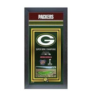NFL パッカーズ フォト ファイル/Photo File Framed Championship Banner - 14.5 x 27.5 selection-j