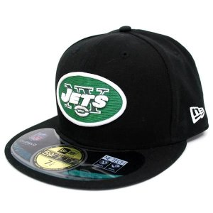 【決算セール】NFL ジェッツ キャップ/帽子 ブラック ニューエラ On-Filed Performance 59FIFTY Fitted キャップ|selection-j