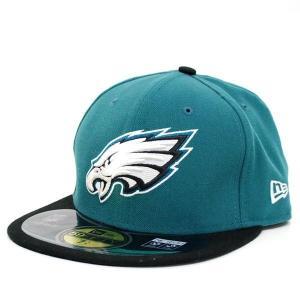 【決算セール】NFL イーグルス キャップ/帽子 ゲーム ニューエラ On-Filed Performance 59FIFTY Fitted キャップ|selection-j