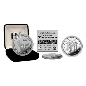 NFL コイン ハイランドミント 2012 South Division Champions Silver Coin|selection-j