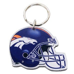 NFL ブロンコス キーリング ウィンクラフト/WinCraft Acrylic Key Ring Helmet Logo selection-j