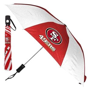 NFL 49ers 折り畳み傘 totes Umbrella Auto Folding selection-j