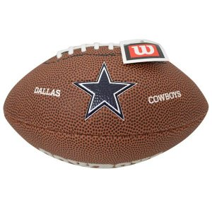 NFL カウボーイズ ボール ウィルソン/Wilson 9 Mini Soft Touch Football|selection-j