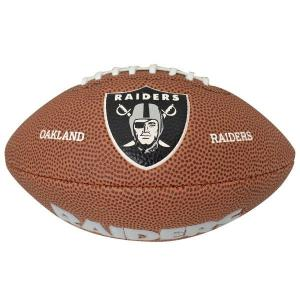 NFL レイダース ボール ウィルソン/Wilson 9 Mini Soft Touch Football|selection-j
