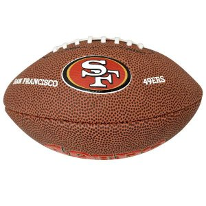 NFL 49ers ボール ウィルソン/Wilson 9 Mini Soft Touch Football|selection-j