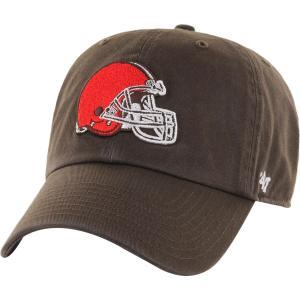 NFL ブラウンズ キャップ/帽子 ブラウン 47ブランド Cleanup Adjustable キャップ【0702価格変更)】|selection-j