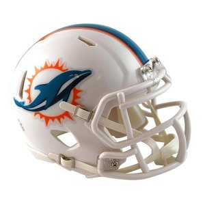 NFL ドルフィンズ ミニヘルメット リデル/Riddell Mini Replica Helmet SPEED|selection-j