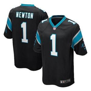 NFL パンサーズ キャム・ニュートン ユニフォーム ブラック Nike selection-j
