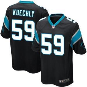 NFL パンサーズ ルーク・クエクリー ユニフォーム ブラック Nike selection-j