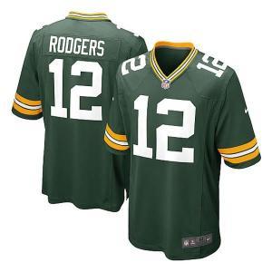 NFL パッカーズ アーロン・ロジャース ユニフォーム グリーン ナイキ Game ユニフォーム selection-j