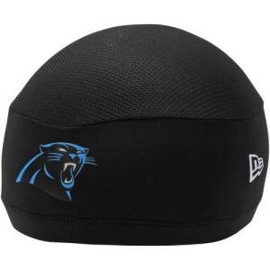 NFL パンサーズ スカルキャップ/帽子 ブラック ニューエラ Training Skull Performance キャップ|selection-j