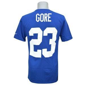 NFL コルツ フランク・ゴア Tシャツ ロイヤル ナイキ Player Pride Name & Number Tシャツ【180921変更】190806価格変更|selection-j