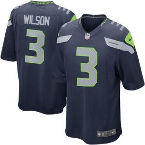NFL シーホークス ラッセル・ウィルソン Game ユニフォーム Nike selection-j