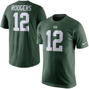 NFL パッカーズ アーロン・ロジャース Player Pride Name & Number Tシャツ Nike【180921変更】|selection-j