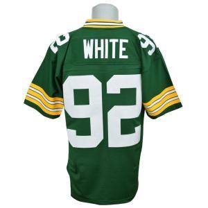 NFL パッカーズ レジー・ホワイト ユニフォーム Trowback Replica ユニフォーム Mitchell&Ness【1902NFLセール】 selection-j