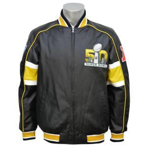 【セール】NFL スーパーボウル50周年記念 ブリッツ ジャケット G-III/ジースリー selection-j
