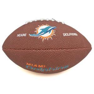 NFL ドルフィンズ ミニ ソフト タッチ フットボール ウィルソン/Wilson|selection-j