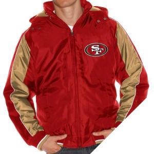 お取り寄せ NFL 49ers ストロング セーフティ フーデッド ジャケット G-III selection-j