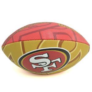 NFL 49ers ジュニア スーパー グリップ ラバー フットボール ウィルソン/Wilson【1909セール】|selection-j