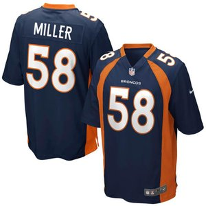 NFL ブロンコス ボン・ミラー ゲーム ユニフォーム ナイキ/Nike|selection-j