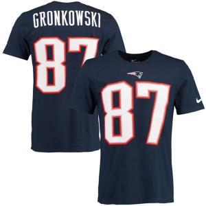NFL ペイトリオッツ ロブ・グロンコウスキー プレイヤー プライド ネーム&ナンバー Tシャツ ナイキ/Nike【180921変更】|selection-j