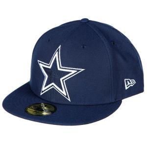 NFL カウボーイズ チームカラー 59FIFTY キャップ/帽子 ニューエラ/New Era|selection-j