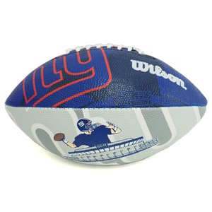 NFL ジャイアンツ ジュニア スーパー グリップ ラバー フットボール ウィルソン/Wilson【1909セール】|selection-j