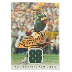 NFL パッカーズ ブレット・ファーブ 2005 ジャージ カード フレア/Fleer レアモデル selection-j