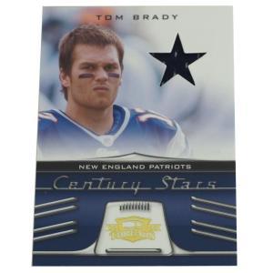 NFL ペイトリオッツ トム・ブレイディ 2006 センチュリー スターズ ユニフォーム カード 046/250 ドンラス/DonRuss レアアイテム【1909プレミア】|selection-j