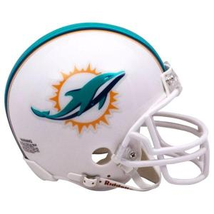 NFL ドルフィンズ ミニ レプリカ ヘルメット (VSR4) Riddell(リデル)|selection-j