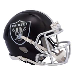 NFL レイダース ブレイズ レボリューション スピード ミニ フットボール ヘルメット リデル/Riddell【1902NFLセール】|selection-j
