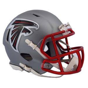 NFL ファルコンズ ブレイズ レボリューション スピード ミニ フットボール ヘルメット リデル/Riddell【1902NFLセール】|selection-j