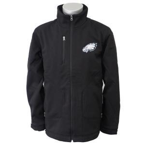 NFL イーグルス ストロング サイド ソフトシェル ジャケット ジースリー/G-III ブラック selection-j