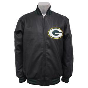 NFL パッカーズ スティフ アーム バーシティ ジャケット ジースリー/G-III selection-j