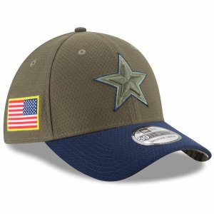 NFL カウボーイズ 2017 Salute to Service 39THIRTY キャップ/帽子 ニューエラ/New Era|selection-j