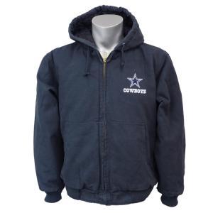 NFL カウボーイズ ダコタ フード ジャケット ダンブルック/Dunbrooke ネイビー selection-j