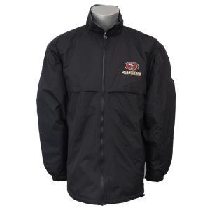 NFL 49ers トリンプ コーチジャケット ダンブルック/Dunbrooke ブラック selection-j