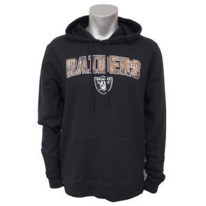 NFL レイダース ヘリテージ カモ プルオーバー パーカー/フーディー マジェスティック/Majestic ブラック|selection-j