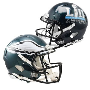 NFL イーグルス 第52回スーパーボウル優勝記念 Revolution Speed Authentic Football ヘルメット Riddell|selection-j