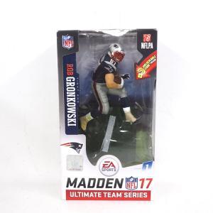 NFL ペイトリオッツ ロブ・グロンコウスキー フィギュア EA スポーツ NFL 17 アルティメット チーム シリーズ マクファーレン/McFarlane ホーム|selection-j
