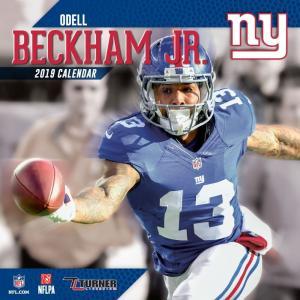 NFL ジャイアンツ オデル・ベッカム・Jr. 2019 プレイヤー カレンダー ターナー/Turner|selection-j